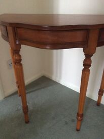 Side/Hall tables Yew Wood Classic Style