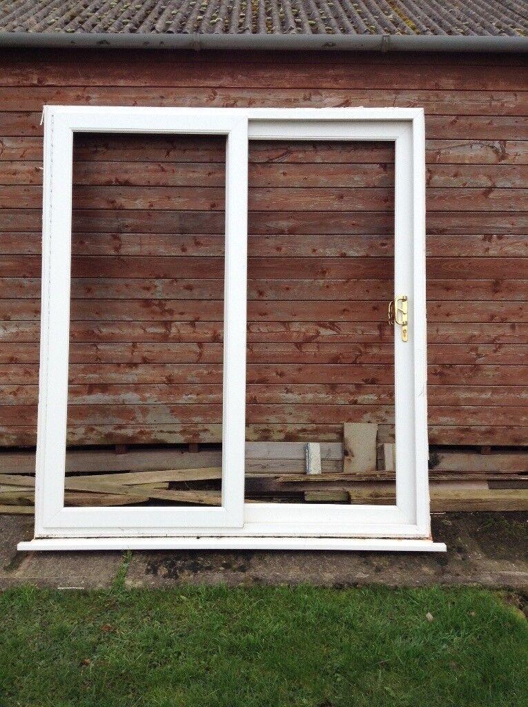 White Upvc Sliding Patio Doors For 6 Ft In Ludlow Shropshire