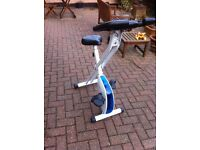 Exercise Bike - Folding Magnetic Cycle - new condition