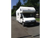 Motorhome in very good condition. Ready to go.