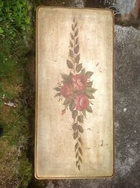 Beautiful old elegant painted console table
