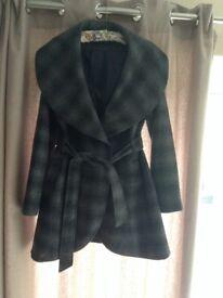 Womens grey coat size 10