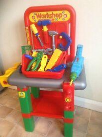 ELC Tool Bench & tools
