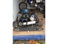 KXF 450 Go kart. This kart is a one of a kind beast!!