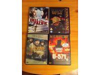 10 classic war dvd's