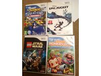 Nintendo wii games bundle - 11 games!