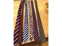 Gents selection of ties