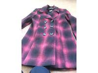 Tu - check jacket with pockets - brand new