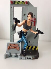 Tomb Raider Lara Croft Figurine in Area 51