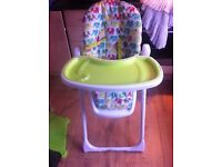 Mothercare Unisex Highchair