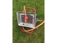 Propane gas heater building, patio,camping, garden workman, DIY little used full working order.