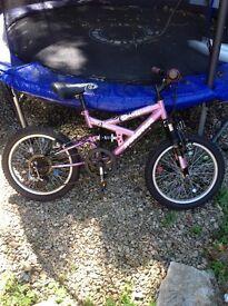 Girls bike, MAGNA-5 speed gear