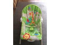 Fisher price rainforest infant rocker