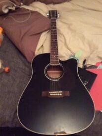 Harley Benton acoustic guitar for sale.