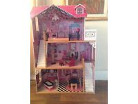 Massive Barbie lot house camper, car, boat dolls clothes shoes. Horses all good condition
