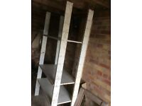 Steel racking and shelves