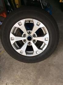 Mitsubishi L200 Alloy Wheels. 2 available.