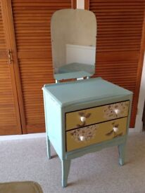 Dressing table 2 drawer attractive floral shabby chic design