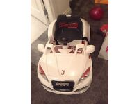 Kids remote control Sit on Audi