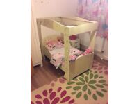Four poster toddler bed