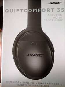 Bose QuietComfort 35 Acoustic Noise Cancelling Headphones, Blacksealed boxes