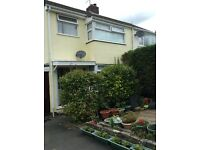 three bed semi large front garden and rear yard parking 2/3 cars g/c/h d/g epc d refs and deposit