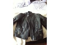 Leather Jacket. Size 44. £20.