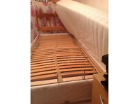Electric bed - top, bottom and middle lifting. Immaculate condition.