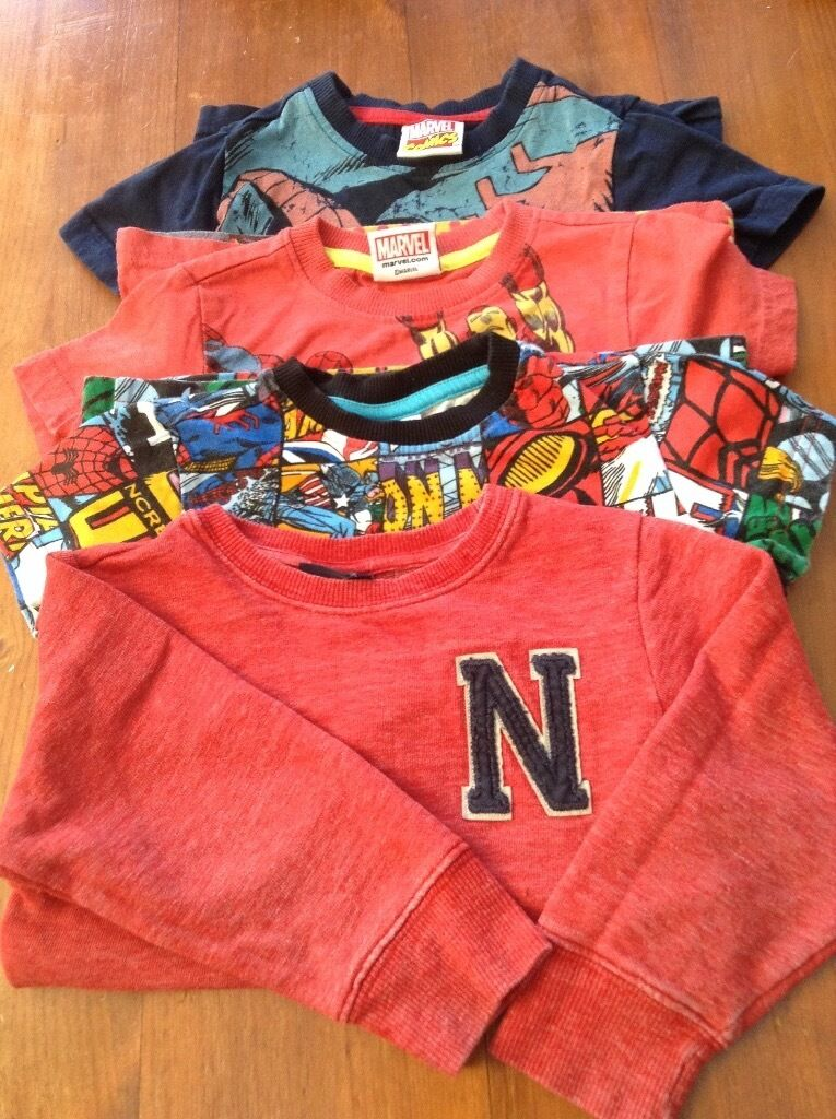 Marvel superheroes bundle boys size 1.5 2in Haslingden, LancashireGumtree - As shown. Check out my larger bundle for 3 4 year olds