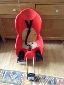 Hamax bike seat in very good condition