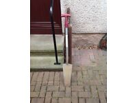 Post digging spade