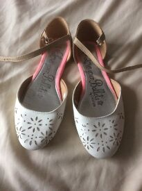 Girls shoes size 3 bridesmaid, party, wedding, occasion