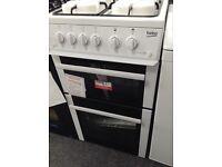 Beko 50cm gas cooker new/graded 12 month Gtee