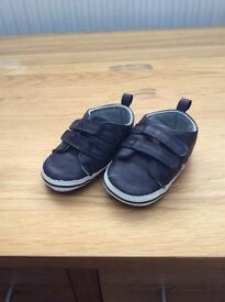 Navy Toddler Shoes