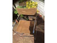 Pair Tubular Garden/Patio Chairs
