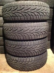 4 pneus 215/65 r16 d'hiver winter claw extrême grip.  165$