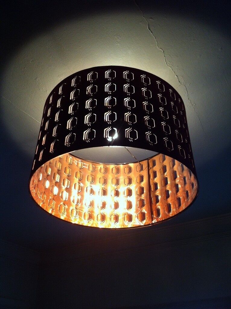 Extra large ikea cut out design lamp shade light shade burgundy and extra large ikea cut out design lamp shade light shade burgundy and copper aloadofball Image collections