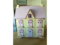 COMPLETELY FURNISHED DOLLS HOUSE