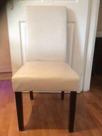 Cream Dining Chair £20each