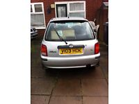 Nissan micra 2001 Silver low mileage in very good condition