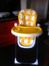 cosetto supa noodle high chair