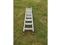 Triple section ladders