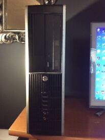 HP 8200 elite i7-2600 QUAD 3.4Ghz 20GB RAM WINDOWS 10 COMPUTER 250GB HDD