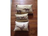 3 X Cream Cushions