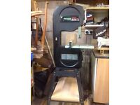 Rexon Band Saw and Stand hardly used. Bargain at £300