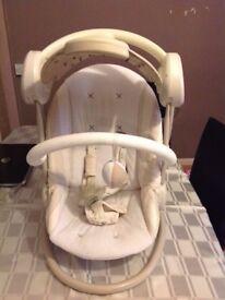 Mama & Papas starlight swing, Baby chair swing, Baby bouncer