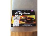 Top Gear DVD and Book set - brand new
