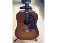 Gibson Hummingbird Acoustic Guitar. Excellent condition. Bought in 2014 hardly played.