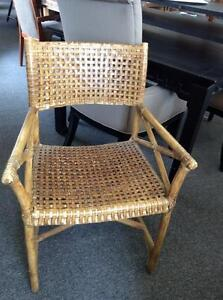 Vintage McGuire Rattan Chairs