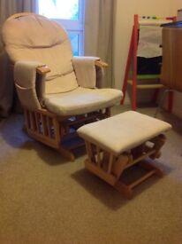 Baby Weaver Reclining Glider Chair